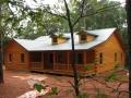 Comfortable custom log home in Laurens, SC