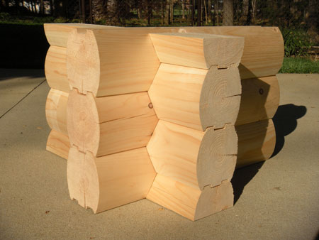 Log Home Corner Styles From Wholesale Log Homes