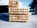 8x8 Round Round Double D Logs