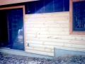 2x6 Log Siding On 2x4 Frame Wall