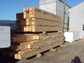 6x12 Grade Stamped Logs Ready For Delivery
