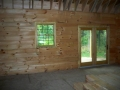 8x6 Inside Log Walls