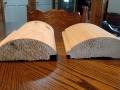 3 x 8 KD Log Siding