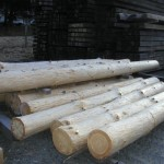 Peeled Round Posts
