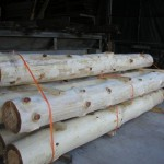Hand Peeled Posts
