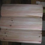 3x12 Hewn Log Siding