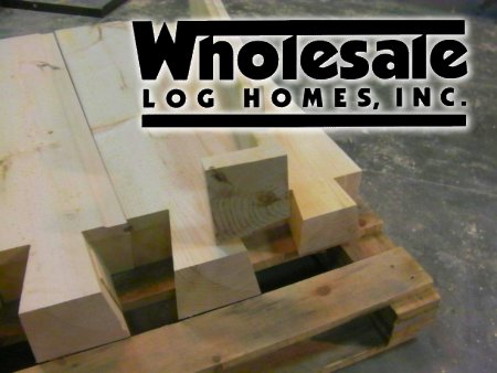 Wholesale Logs Saves Money on Your Log Home Project