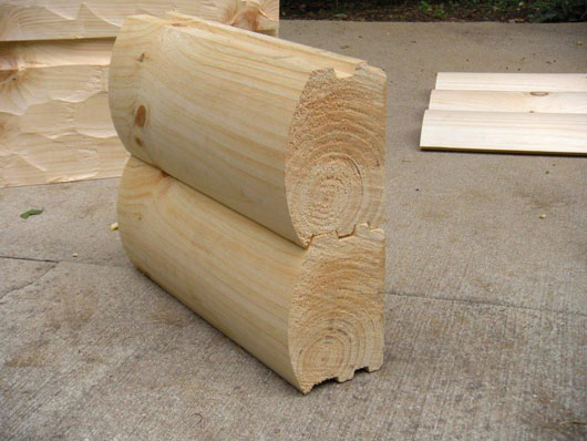 House Logs at Wholesale Prices