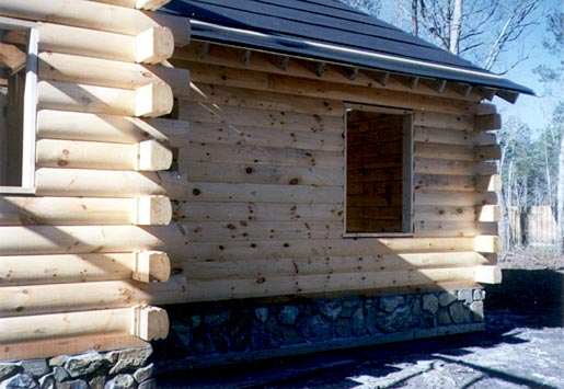 Log cabins log cabins kits wholesale log homes How to build a butt and pass log cabin