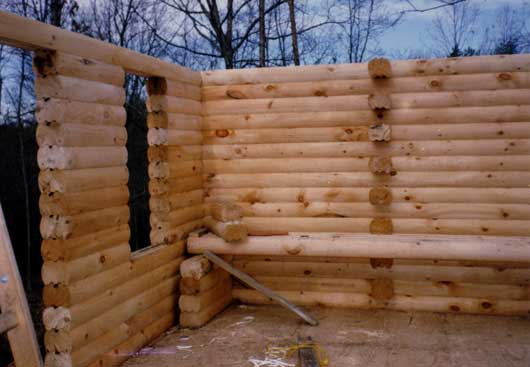 Log cabin plans buy your logs wholesale for Cabin building plans free